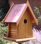 Cottage Birdhouse Plan