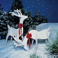 Holiday Reindeer Pattern
