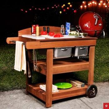 Barbecue Caddy