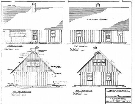 One and Half Story House Plan