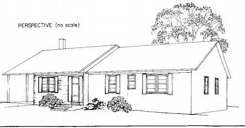House with Carport Plan