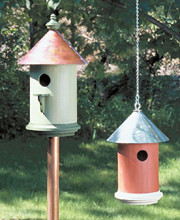 Metal Roof Birdhouse Plan