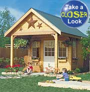 Backyard Shed & Playhouse Plan