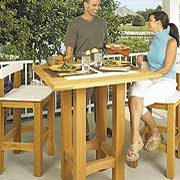 Table and Chairs Plan